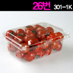 청과용기301-1K<br>딸기/방울1kg