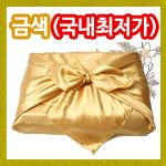 금색공단보자기<br>중(87x87)<br>베트남
